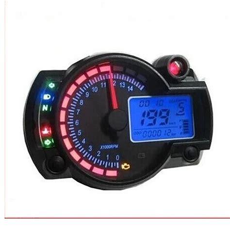 Koso Gpii Style Meter Rpm Blue Backlight Speedometer Mini yamaha speedometer reviews shopping yamaha speedometer reviews on aliexpress