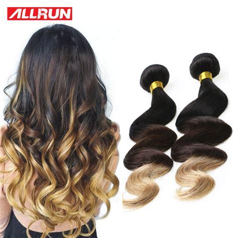 3 hair color weave pictures blonde blonde brazilian hair weave bundles ombre human hair
