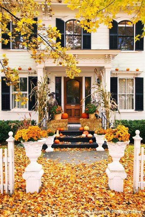 beautiful homes decorated for gorgeous front door fall decorating ideas four generations one roof