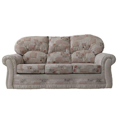 rose sofa rhea 3 seater sofa in rose park beige buy sofas direct