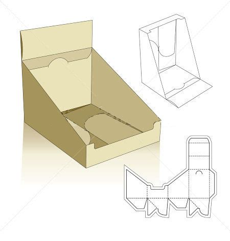 pop display templates box templates corrugated and folding box templates