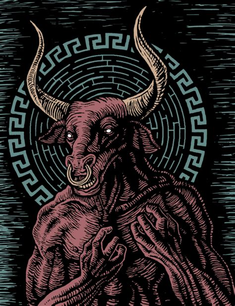 the labyrinth mythical beasts 1910552615 your weekend creature comforts the minotaur quot the brotherhood of evil geeks quot