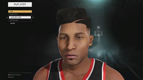 hairstyles nba 2k18 nba 2k16 myplayer hairstyles and tattoos youtube