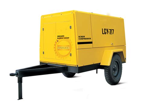 mobile air compressor china lgy series electric mobile type air