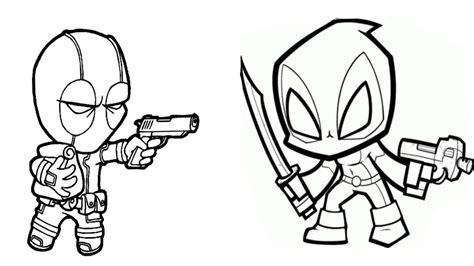 baby deadpool coloring pages baby deadpool vs baby deadpool coloring pages how to