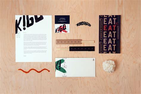 Kigo Kitchen Menu by Creature Kigo Kitchen Identity And Collateral Design