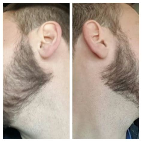how should i cut by my ears for short womens haircut trim my peak under ear or not at beard profile forum