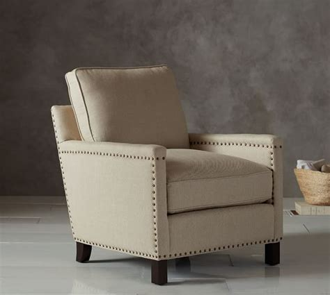 pottery barn armchair tyler upholstered armchair pottery barn