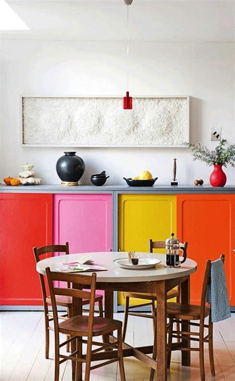 colorful kitchens colorful kitchen cabinets