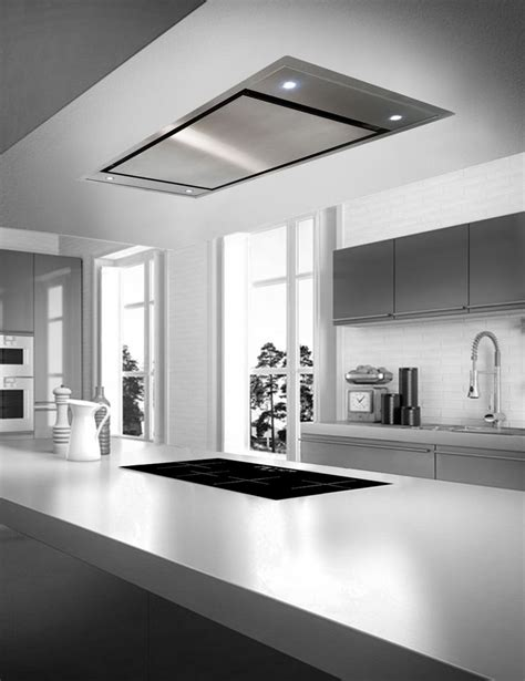 island extractor fans for kitchens zefiro island ceiling hood design decor pinterest