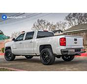 Chevrolet Silverado 1500 Custom Wheels Fuel D604 Hydro