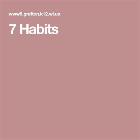 Best 25 7 Habits Ideas On Covey Habits Covey 7 Habits And Leader In Me Best 25 Covey 7 Habits Ideas On 7 Habits Highly Effective And Stephen Covey