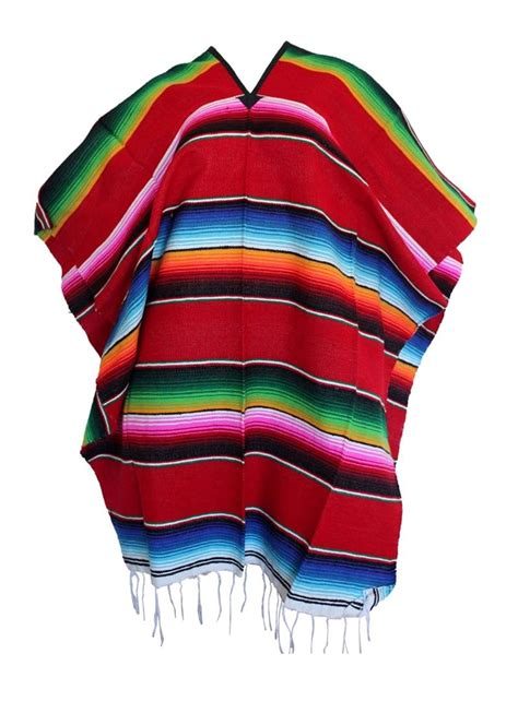 Girls Home Decor by Mexican Sarape Poncho Pancho