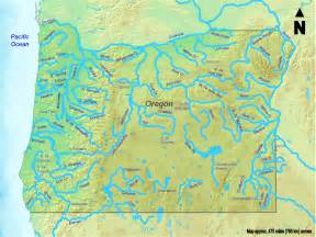 Map Of Oregon Rivers by Map Of Oregon Map Rivers Worldofmaps Net Online Maps