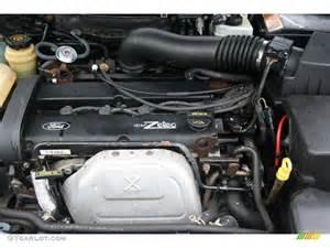 2003 Ford Focus Engine 2003 Ford Focus Se Sedan 2 0l Dohc 16v Zetec 4 Cylinder