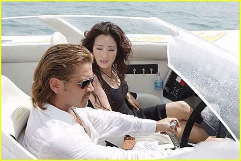 miami vice movie boat scene music miami vice movie photo 220431 colin farrell gong li