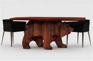 Unique Ideas For Dining Table Base Unique Table With Shaped Base Table Home