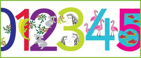 printable numbers early years animal display numbers eyfs ks1 free early years