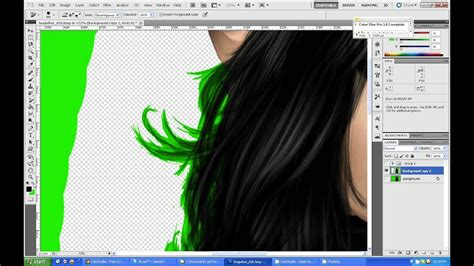 how to remove color in photoshop photoshop cs5 tutorial hair color removal or quot how to