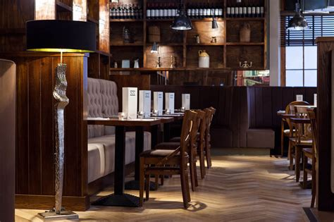cafe design glasgow american ny grill glasgow space i d interior designers