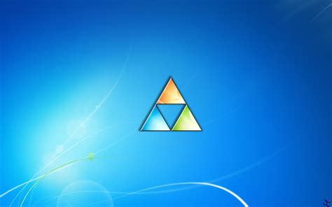 blue zelda wallpaper triforce wallpapers wallpaper cave