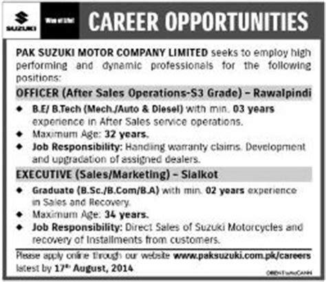 Pak Suzuki Motor Company Limited Pak Suzuki Motor Company Limited 2014 August For