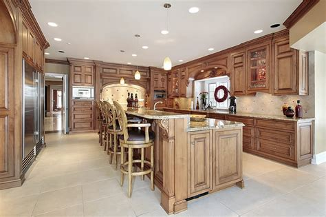 straight line kitchen with island low level slimline 143 luxury kitchen design ideas designing idea