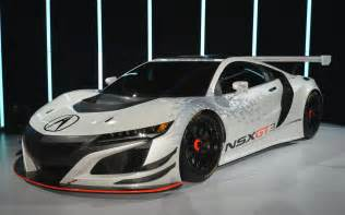 new car racing 2017 acura nsx gt3 races into new york live photos and