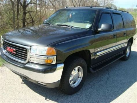auto air conditioning service 2003 gmc yukon xl 1500 electronic valve timing purchase used 2003 gmc yukon xl 1500 slt in 810 nicola lane ofallon missouri united states