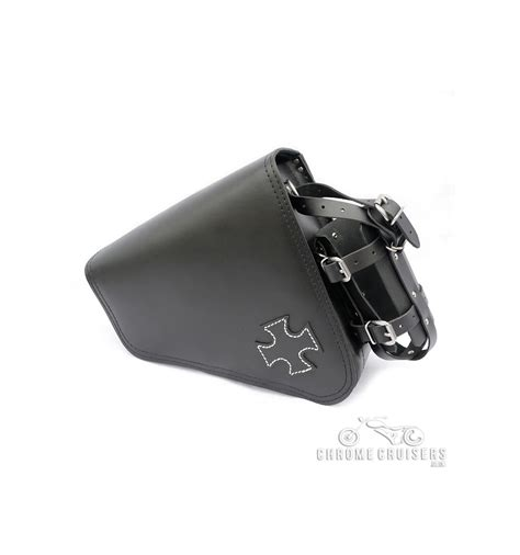 harley davidson saddlebag harley davidson sportster leather saddlebag with cross