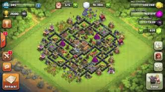 Clash of clans best town hall level 8 th8 defense with 4th mortar