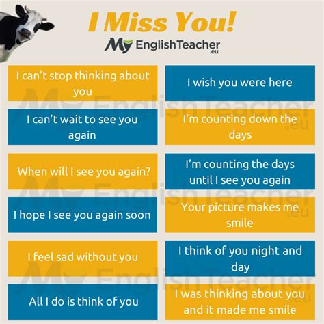 say i you other ways to say quot i miss you quot myenglishteacher eu forum