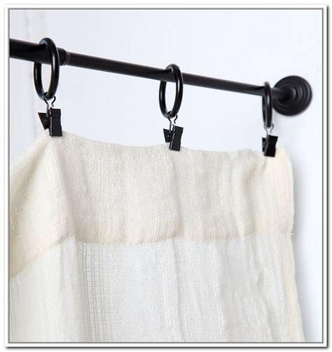 window curtain tension rod window treatment with tension rod curtain homesfeed