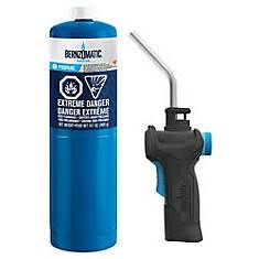 bernzomatic quickfire self igniting torch kit the home