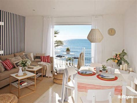 pequeno apartamento de praia decorado para te inspirar - Como Decorar Apartamento De Praia