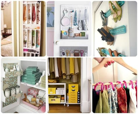 Closet Organizing Ideas On A Budget by 50 Ideas To Organize Your Home The Budget Decorator