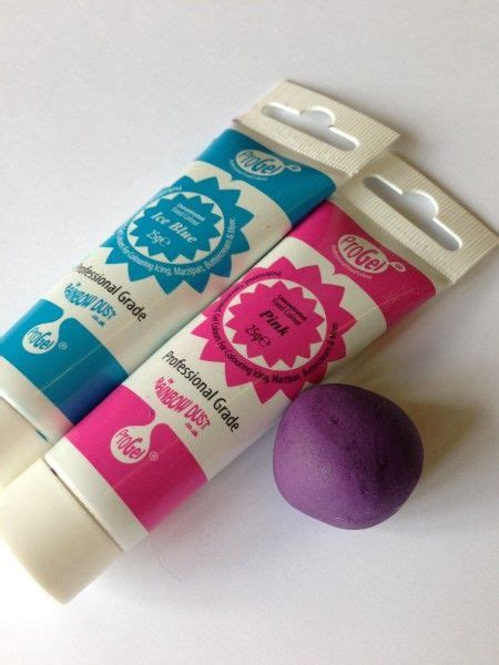 what colors make purple food coloring mixing colours to make purple sugarpaste fondant food
