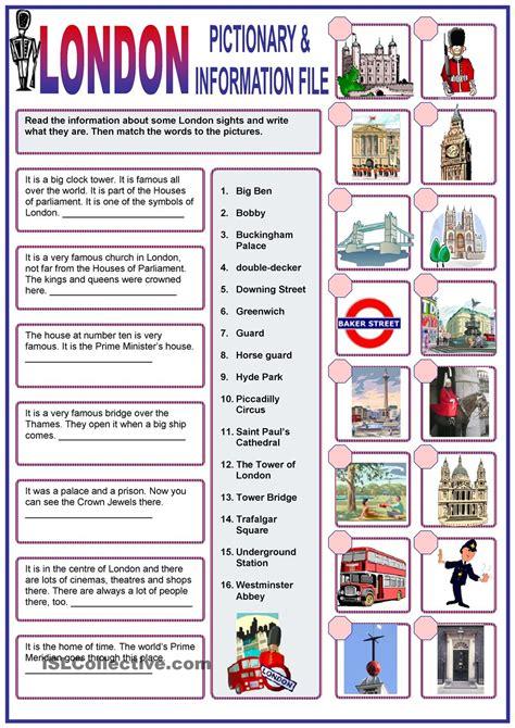 printable london puzzle london pinteres