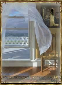 le vent dans les rideaux