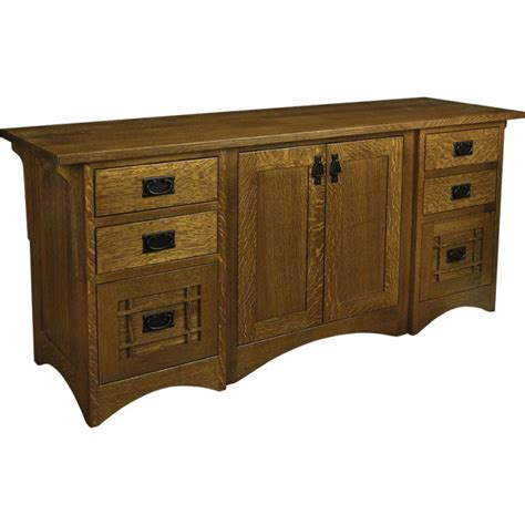 Lincoln Furniture by Lincoln Collection Executive Credenza Amish Crafted