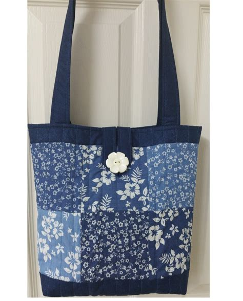 Patchwork Bag Kits - patchwork tote bag kits from quality fabrics