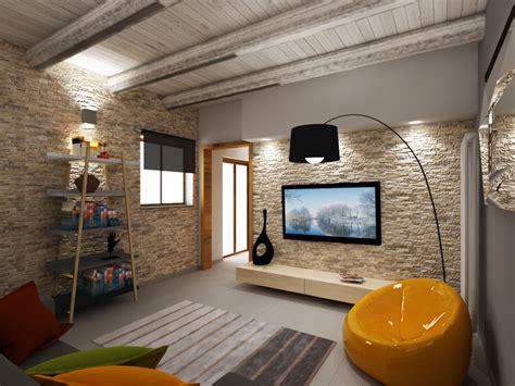 piastrelle per soggiorno pavimenti in finta pietra per interni