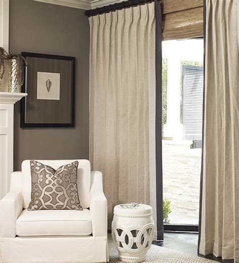 linen drapery custom linen drapes drapestyle com
