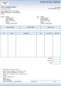 purchase order excel format template sample form ebook