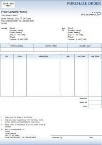 purchase order templates 5 purchase order templates excel pdf formats