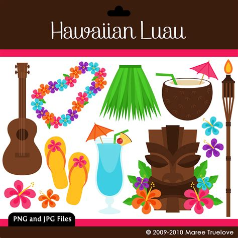 free printable luau party decorations 6 best images of luau clip art free printable free