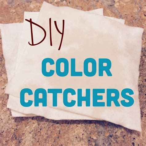 make your own diy color catcher free tutorial on craftsy
