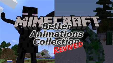 minecraft better animations mod minecraft mod showcase better animations collection
