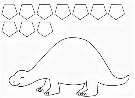 template dinosaur 25 best ideas about preschool dinosaur crafts on