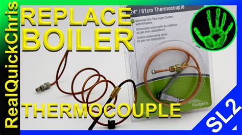 how to light a boiler how to change the thermocouple on a boiler and how to